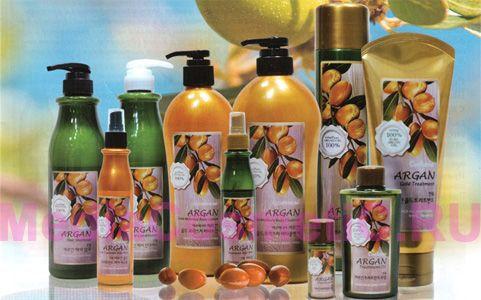 Косметические серии / Confume Argan средства для кожи и волос с аргановым маслом, Корея