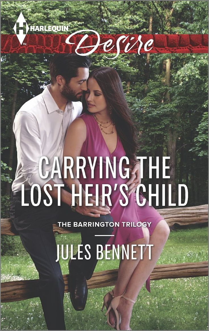 Carrying the Lost Heir's Child (Harlequin Desire\The Barrington Trilogy): Jules Bennett: 9780373733651: Amazon.com: Books