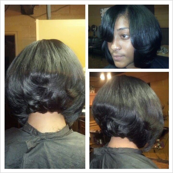 sew in layered bob hairstyles : sew in, layered bobSew Ins, Sewing In, Partial Sewing, Layered Bobs ...
