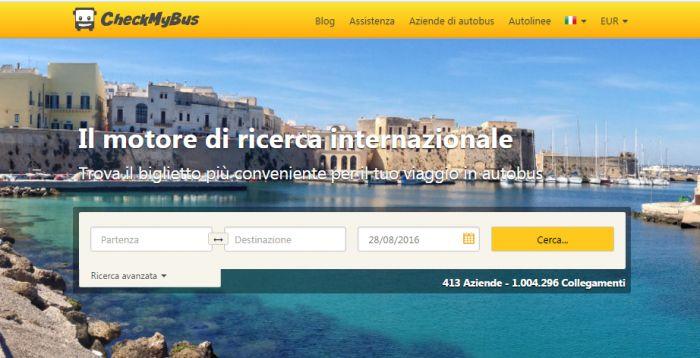"""Viaggi in bus low cost con CheckMyBus L'autobus è un mezzo di trasporto alternativo a treno ed auto (e molto spesso è anche l'unico mezzo possibile e disponibile), sia per viaggiare """"da paesello a paesello"""" che per lunghe tratte nazionali ed internazionali. Ma quale bus devo prendere? Quale è quello più conveniente in termini di costo/percorrenza? Per trovare l'autobus migliore e meno costoso serve CheckMyBus! http://bussoladiario.com/2016/08/viaggi-in-bus-low-cost-con-checkmybus.html"""