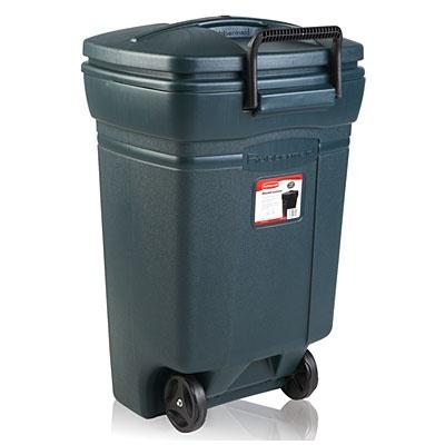 Rubbermaid 174 45 Gallon Wheeled Trash Can At Big Lots