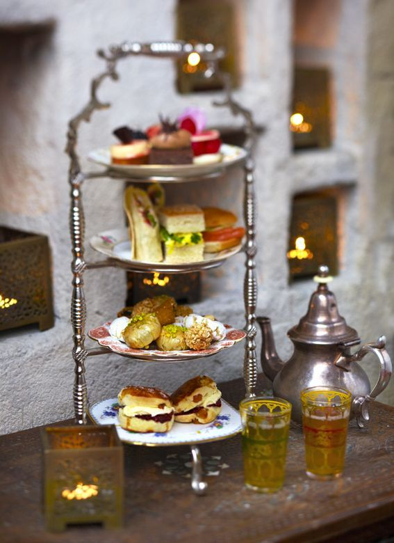 #Contest  MOROCCAN RESTAURANT - Great place for coucous, but also for afternoon tea
