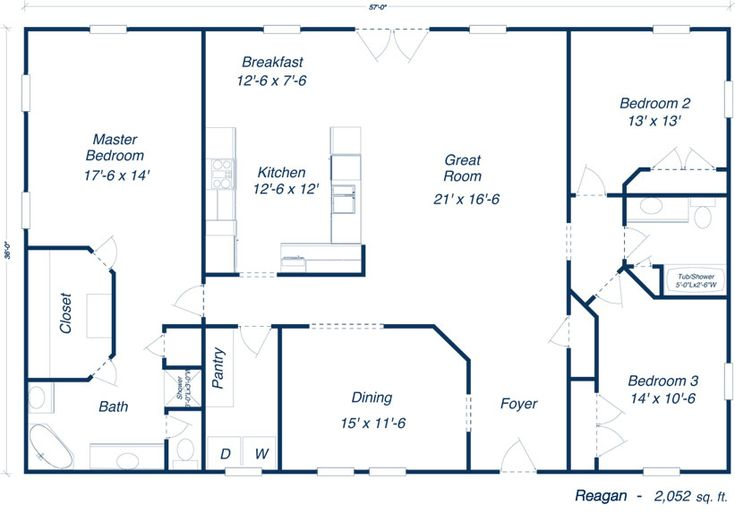 The 25+ Best Simple House Plans Ideas On Pinterest | Simple Floor Plans,  Open Floor House Plans And Home Floor Plans Part 85