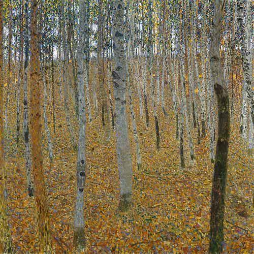Gustav Klimt - Beech Forest