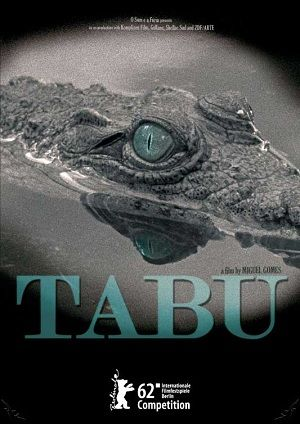TABU. A restless retired woman teams up with her deceased neighbor's maid to seek out a man who has a secret connection to her past life as a farm owner at the foothill of Mount Tabu in Africa. Director: Miguel Gomes. Ref. number(s): POR-004-005 (DVD).