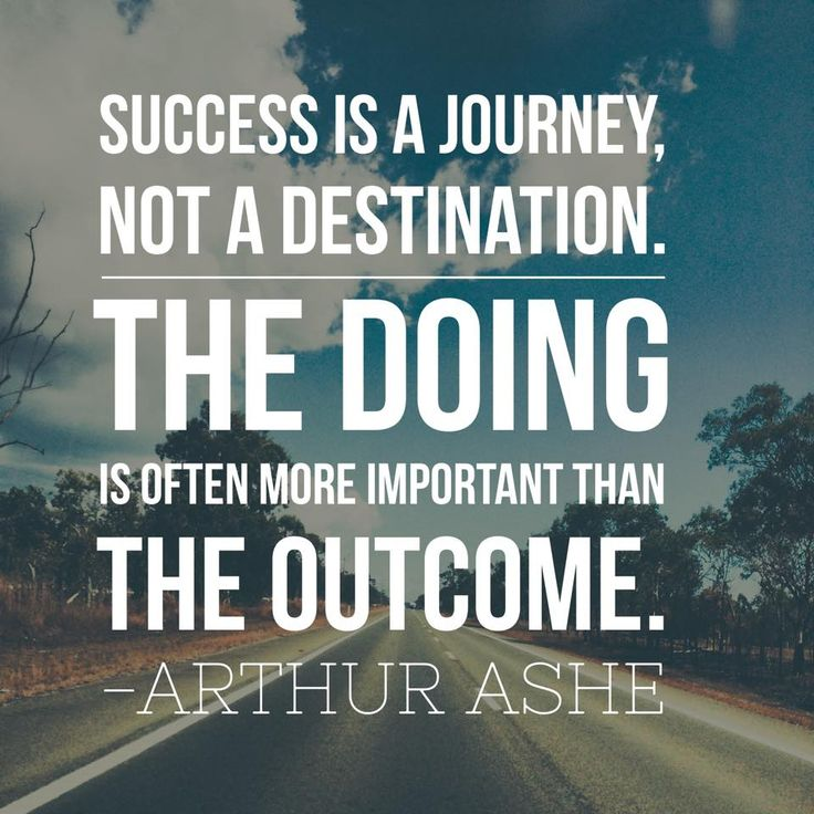 Arthur Ashe Quotes: Success Is A Journey, Not A