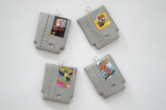 Nintendo NES Cartridge Game Charm Kawaii by ChocolateBubble14