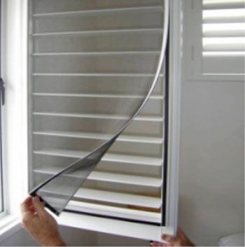 insect screened louvres - Google Search