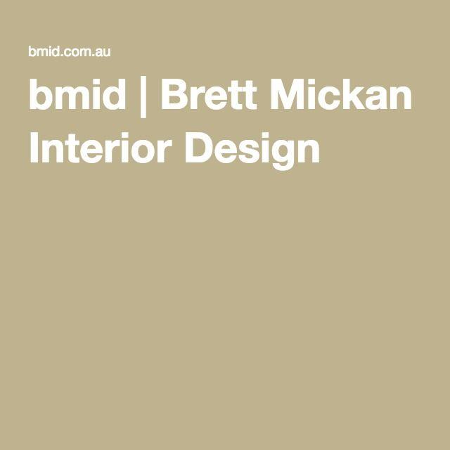 bmid | Brett Mickan Interior Design
