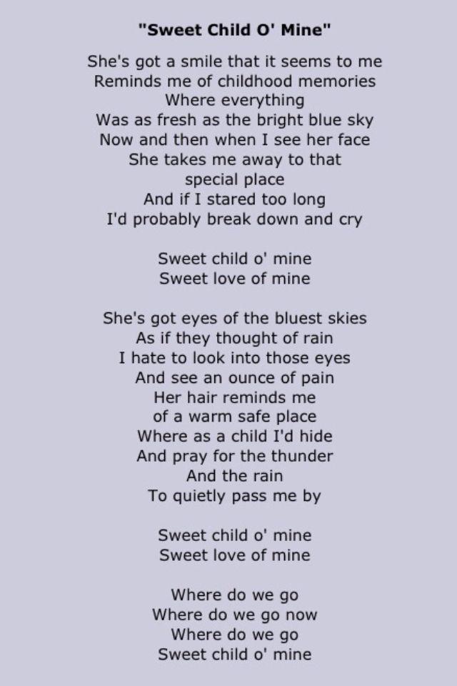 Guns & Roses: Sweet Child of Mine