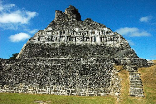 Xunantunich  Visiting this place was amazing. Xunantunich (pronouned Su-nan-tu-nich). It means Maiden of the Rock. It is the second tallest Maya ruin in Belize and is located across the river from the village of San Jose Succotz in the Cayo district. It stands 130ft (40 meters) high and gives a panoramic view of the Cayo Districtand Guatemala. Xunantunich was a major ceremonial site, built on a natural limestone ridge during the Classic Period. On the eastern side of one of the largest…