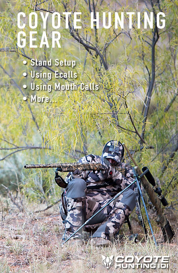 A great list of equipment needed for predator hunting. Get all of the coyote gear checked of your list. See what the pro's are using!