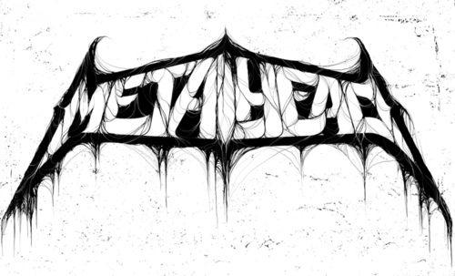 METALHEAD logo by Elli Egilsson.: Graphic Design, Metalhead Logo, Elli Egilsson, Typeverything With, Logos Design, Metalhead Type, Logo Design Ideas, Metal Art
