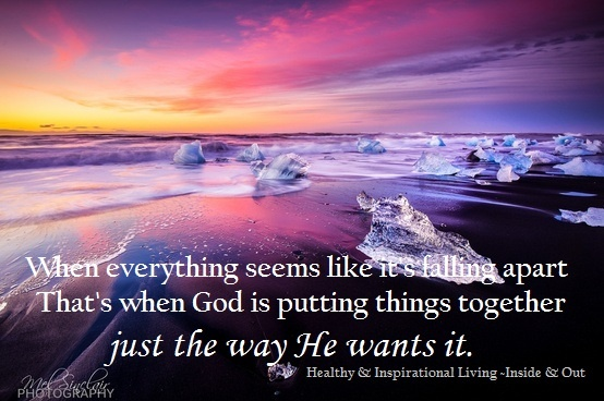 Image result for when everything seems to be falling apart that's when god