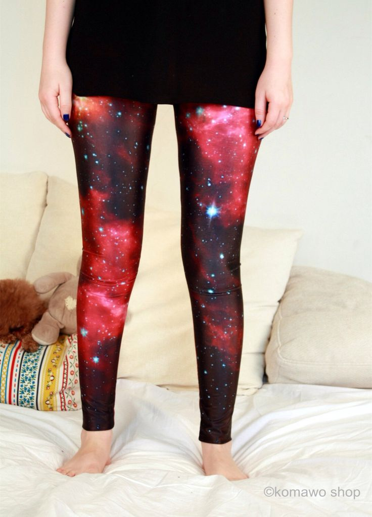 NEW PLANET GALAXY Leggings / Red leggings/ Catsuits/Red Color Bottoms/Sports pants/Designed Leggings/Women Stretch Leggings/Yoga Tights dz71 by KOMAWO on Etsy https://www.etsy.com/listing/203357686/new-planet-galaxy-leggings-red-leggings