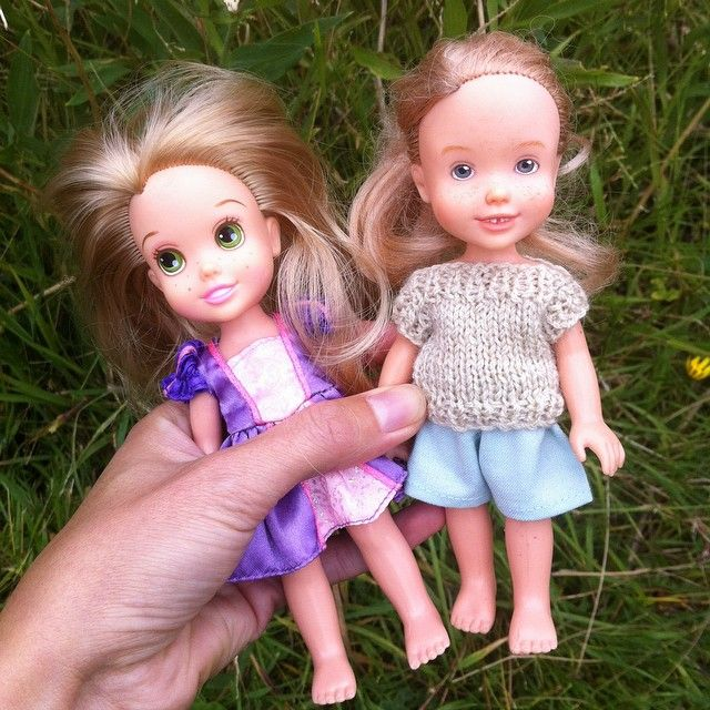 Tree change dolls. Tasmanian artist recycles bratz dolls and others similar to look like actual girls. Beautiful.