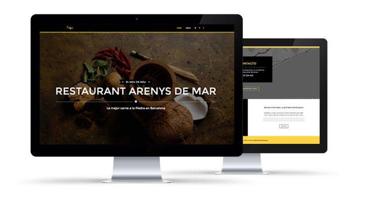 Diseño, Programación WordPress + Posicionamiento SEO, Restaurante Arenys de Mar, El nou de Nou: + info: http://vinti7.com/paginas-web-barcelona-el-nou-de-nou/