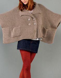 Modèle poncho accessoire femme