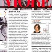@Ellen Sirot featured in MORE Magazine - April-2010 http://ellensirot.com/