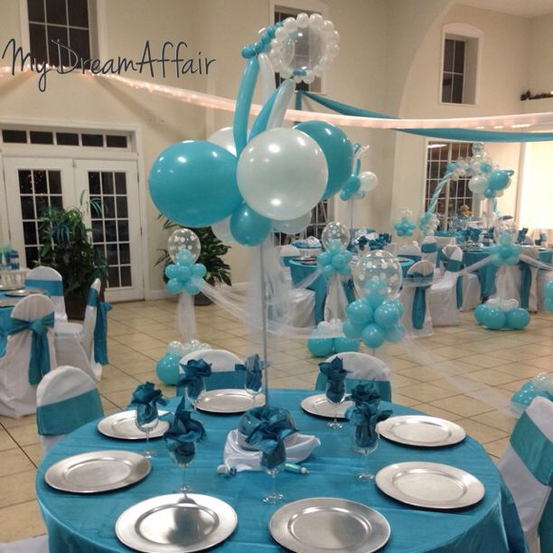 14 best images about twins co babyshower tiffany co for Baby shower decoration twins