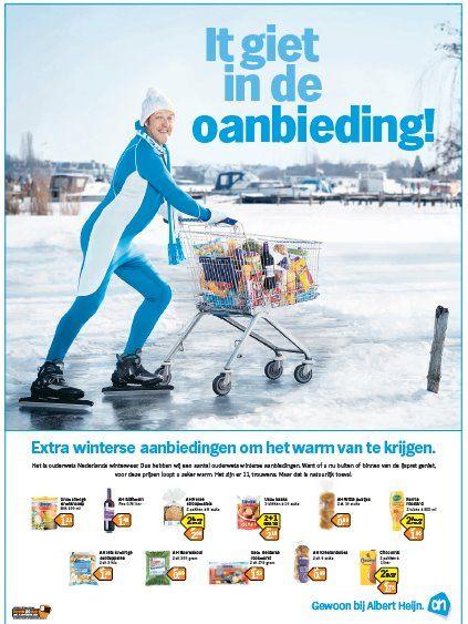 #newsjacking Albert Heijn (it giet oan) #elfstedentocht