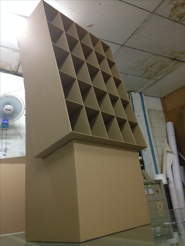 carboard rack