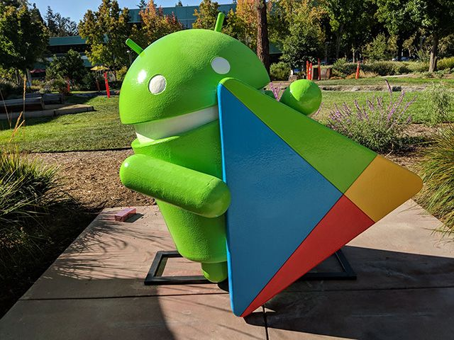 New Google Play Android Statue At GooglePlex  ||  Louis Gray shared a photo of the latest Android statue at the GooglePlex in Mountain View, California.  This is a Google Play Android statue, that is holding the Google Play logo.  It didn't get much  https://www.seroundtable.com/photos/google-play-android-statue-at-googleplex-24406.html?utm_campaign=crowdfire&utm_content=crowdfire&utm_medium=social&utm_source=pinterest