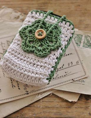 Cute phone cover--idémakeriet: Rolig post