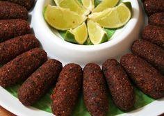 Receita Completa de kibe vegetariano / vegano para sua dieta vegan. Aprenda passo a passo como fazer quibe vegetariano assado. Receita rápida e fácil!