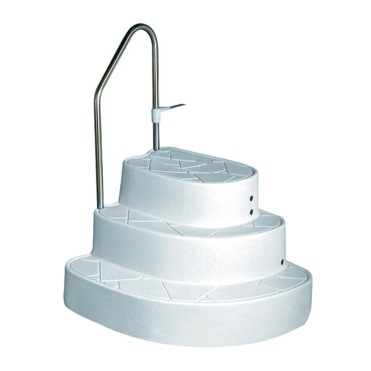 tux wedding cake drop in pool steps only suitable for inground swimming pools with wall height greater than also suitable for above ground