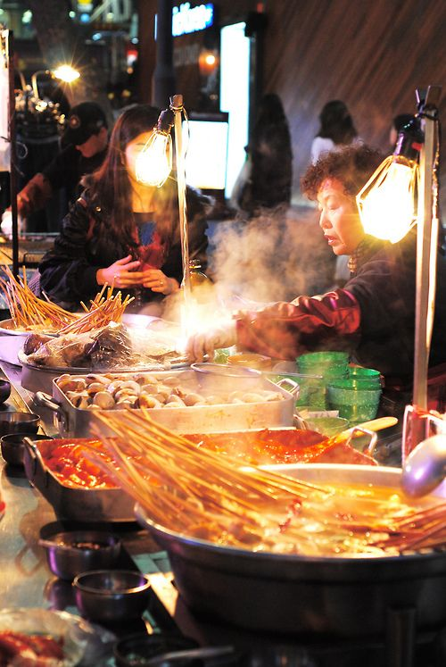 Korean street food   - Explore the World with Travel Nerd Nici, one Country at a Time. http://TravelNerdNici.com