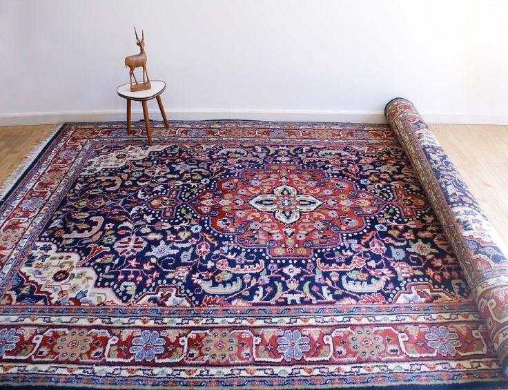 Perzisch kleed blauw