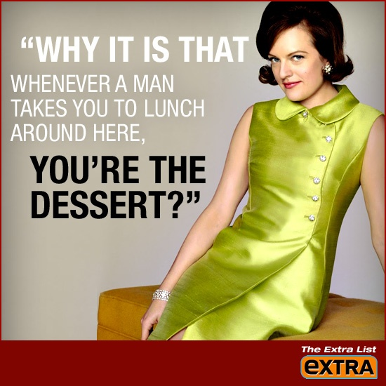 "'Mad Men' Quotes: Peggy Olson -- Season 1, Episode 3: ""Ladies Room"""