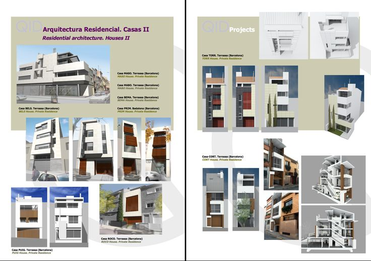Arquitectura Residencial. Casas II Residential Architecture. Houses II