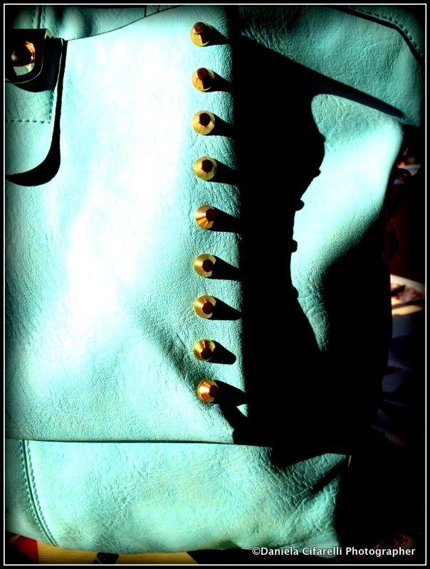 Light blue Tote bag