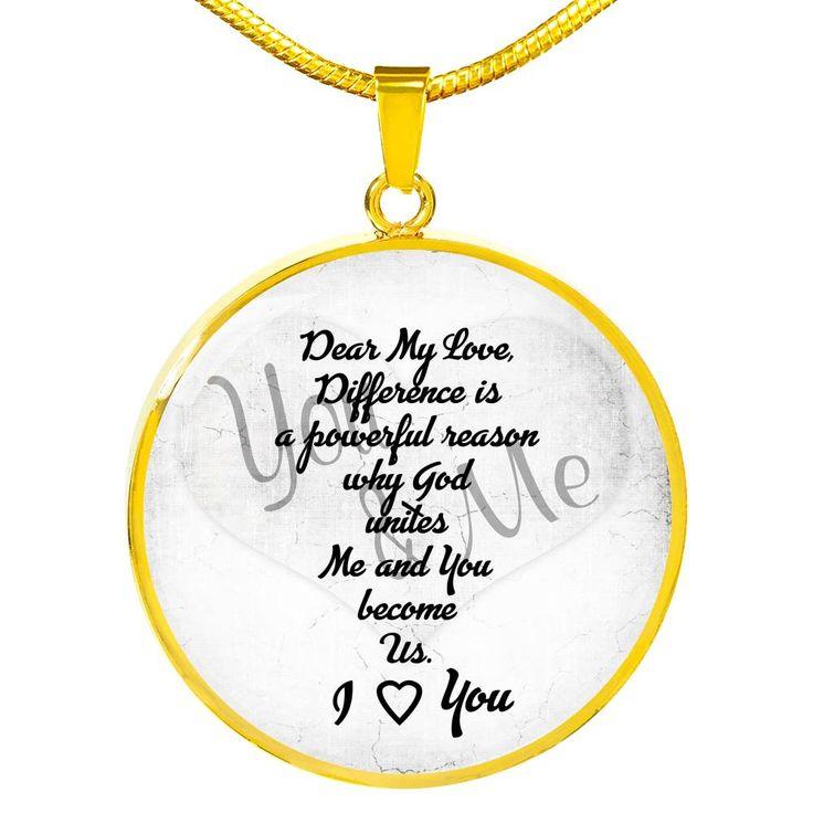 To My Girlfriend Necklace Gift Woman Necklace Birthday from Boyfriend Anniversary Gift Idea 2525fHcn AvA