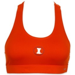 Nike Performance Women's Illinois Fighting Illini Sports Bra