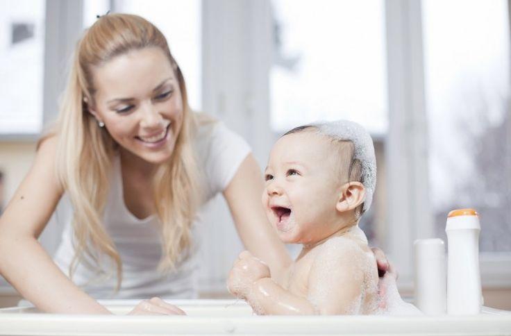 Baby badkamer veiligheid