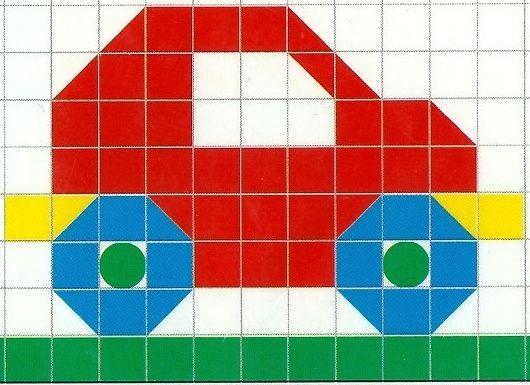 Brevets et contrats en maternelle id es pour l 39 cole - Modele mosaique a imprimer ...
