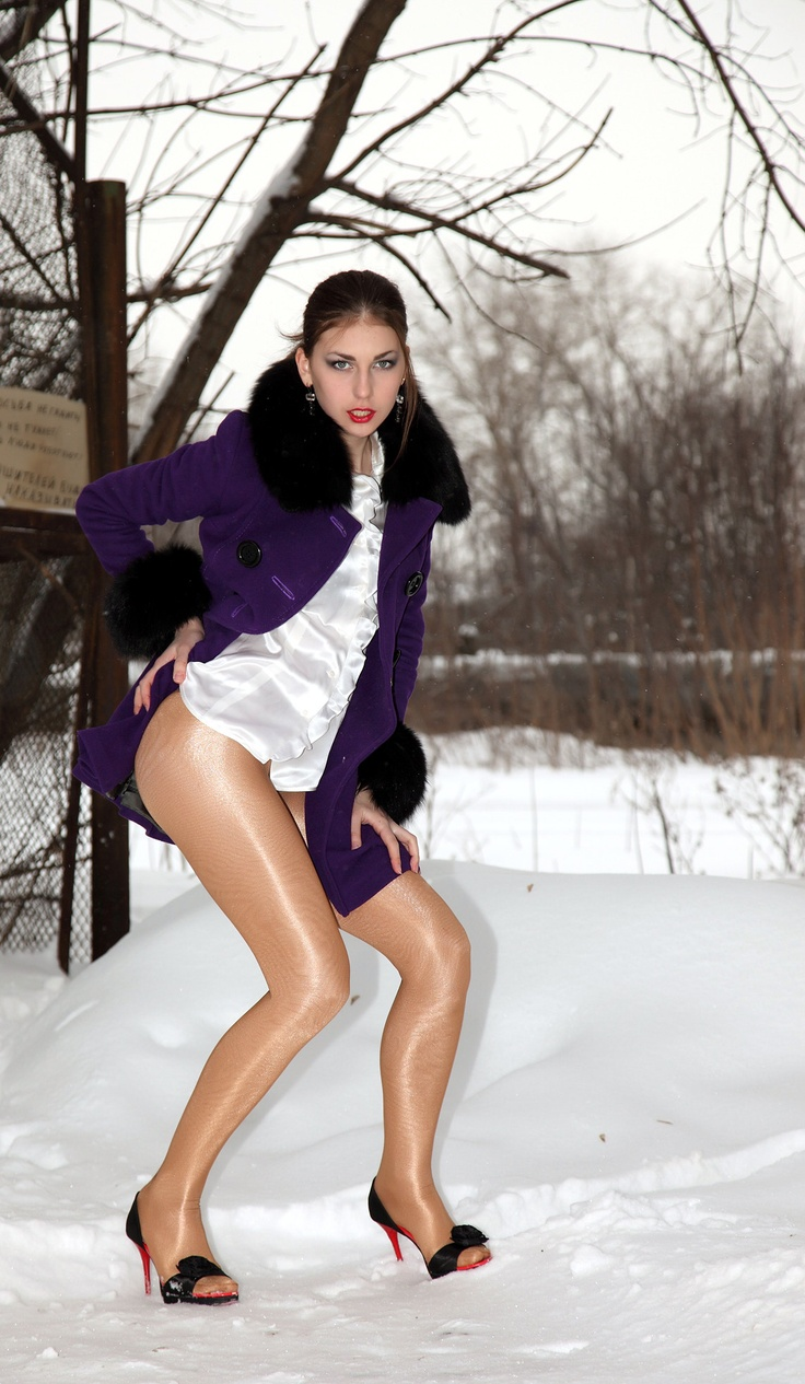 Shiny Pantyhose Over Snow Winter Pinterest Snow