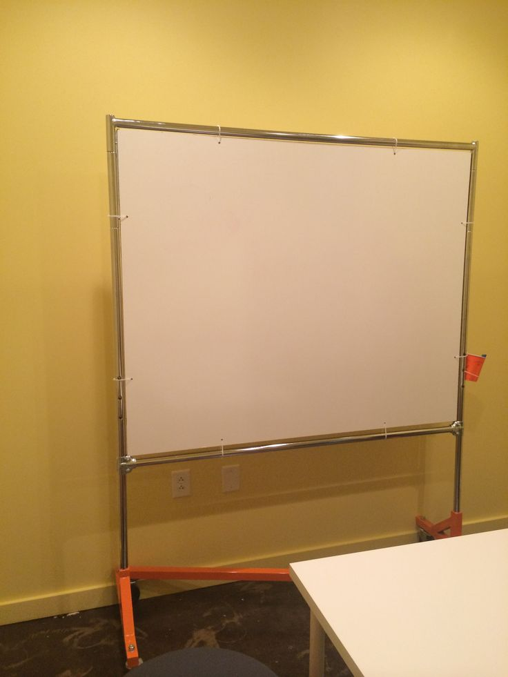 Shower board with cheap frame instead of paying a lot of money. Could be used for TV also