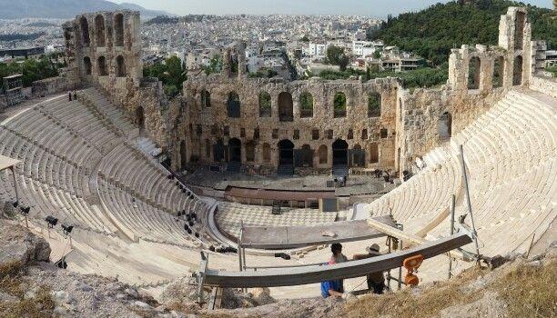 Amphitheater - Athens, Greece