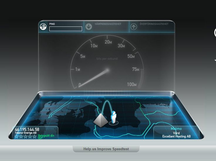 Speedtest.net http://www.speedtest.net/sv/