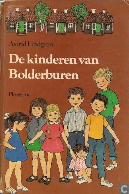 Boeken - Diversen - De kinderen van Bolderburen met illustraties van Ilon Wikland