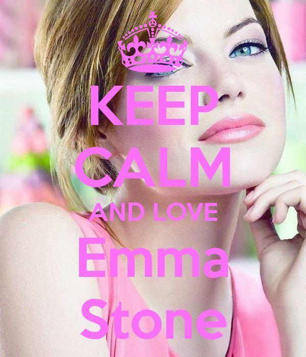 Keep calm: Emma Stone (01)