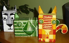 .FINALLY- a reason to horde old kleenex boxes!!! If I get a 6th grade class, they could use this!