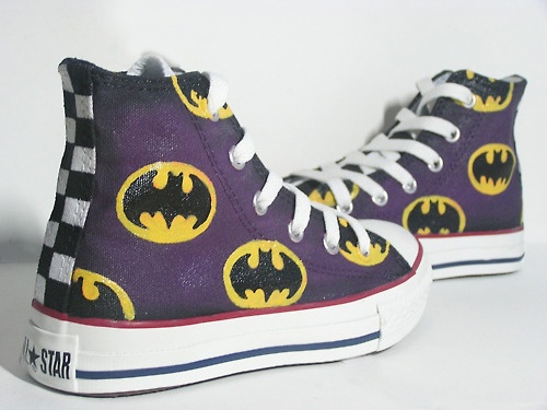 Batman Converse-Just got these!Your never too old for superheros!