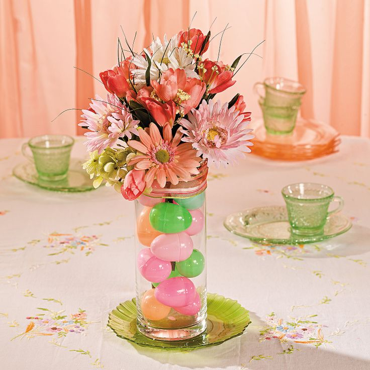 Easter Egg Centerpiece - OrientalTrading.com
