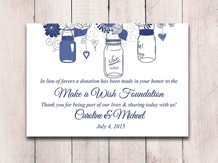 The 25+ best Wedding favour donations ideas on Pinterest Wedding - donations template