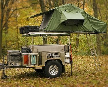 Roof Top Tent Amp Trailer